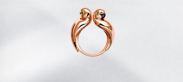 Cartier Fauna and Flora Rings