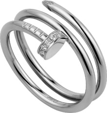 546c9a55b35a3 CRB4211000 - Juste un Clou ring - White gold, diamonds - Cartier