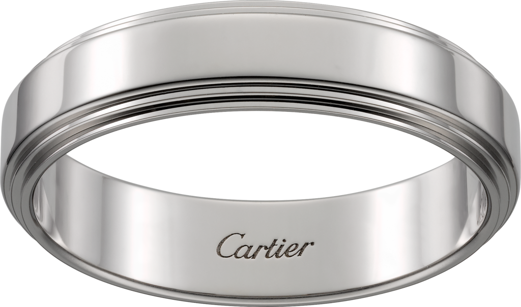 Cartier d'Amour wedding ringPlatinum