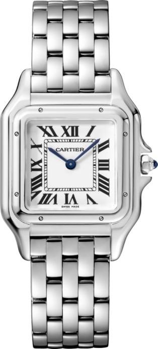Panthère de Cartier watches in gold and steel - Cartier 8ac128d0d