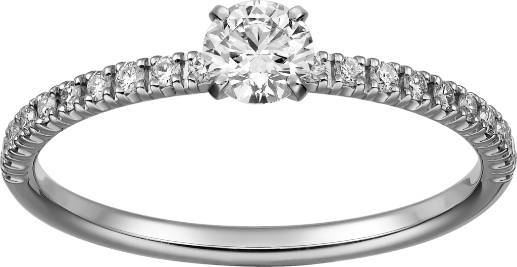 Etincelle de Cartier ringPlatinum, diamonds