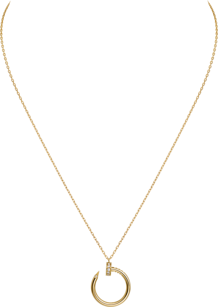 Juste un Clou necklaceYellow gold, diamonds
